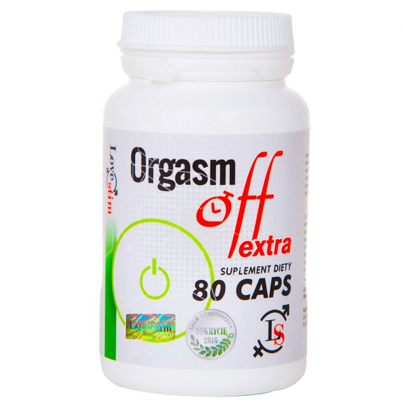 Orgasm Off extra 80 kapsułek LoveStim