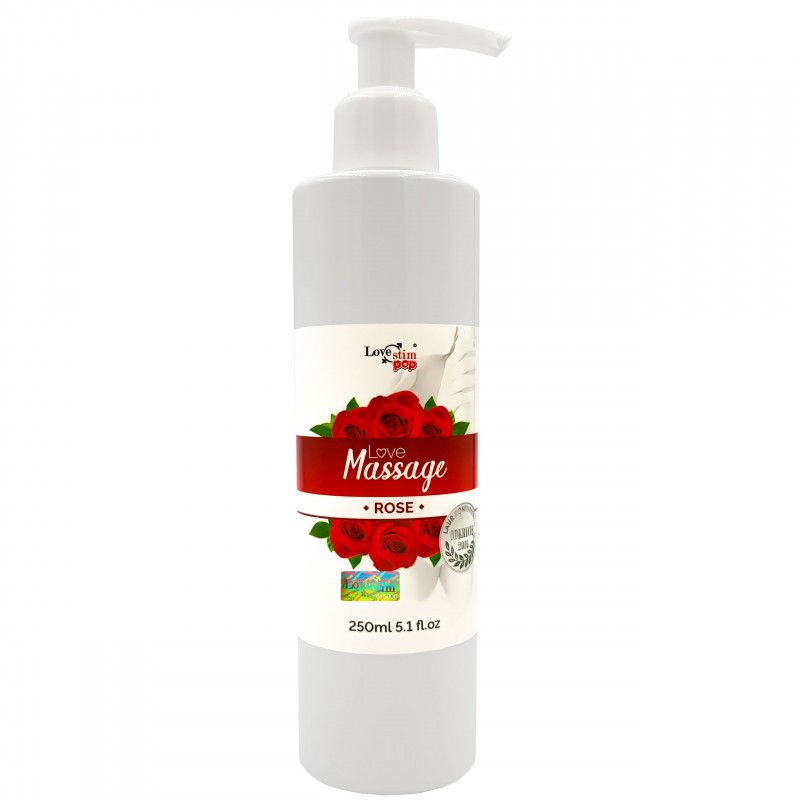 Żel do masażu i lubrykant Różany zapach 250ml LoveStim