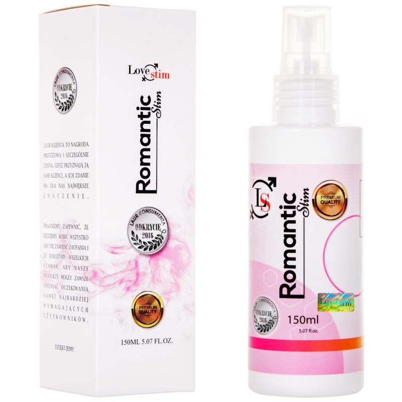 Olejek do masażu i lubrykant Romantic Stim 150 ml LoveStim