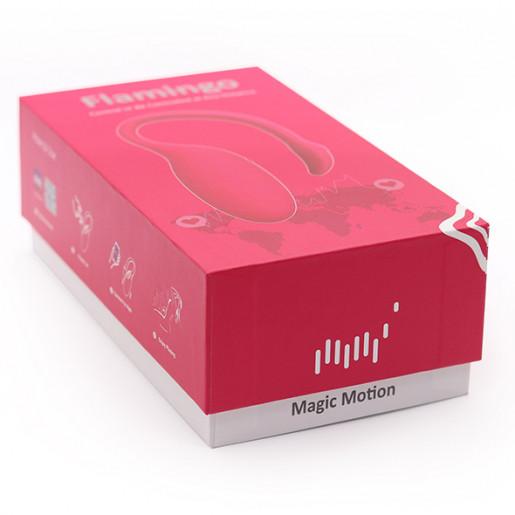 Wibrujące jajko sterowane aplikacją Magic Motion Flamingo