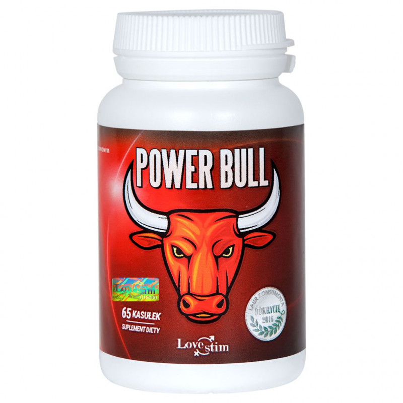Power Bull 65 kapsułek suplement na erekcję LoveStim