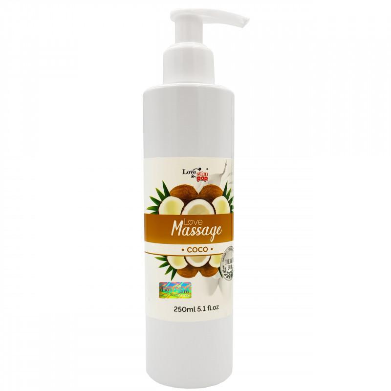 Żel do masażu i lubrykant Kokosowy zapach 250ml LoveStim