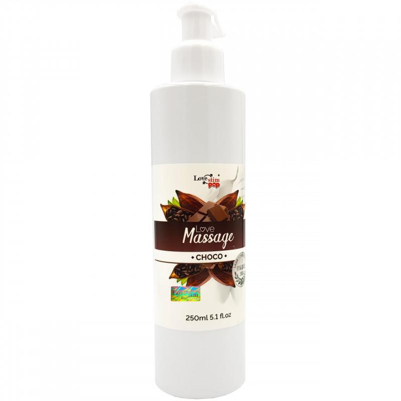 Żel do masażu i lubrykant Czekoladowy zapach 250ml LoveStim