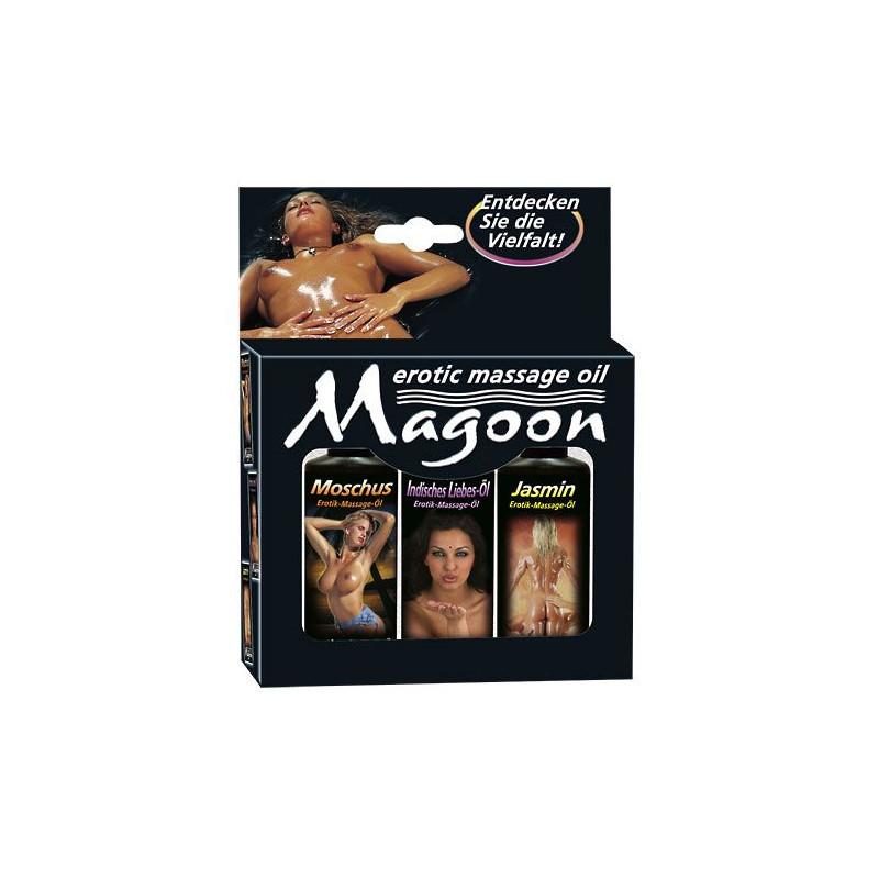 Zestaw olejków do masażu - Magoon, 50ml Magoon