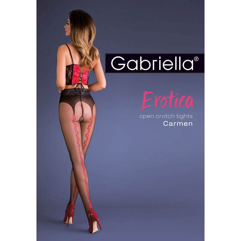 667GAB10 Gabriella Rajstopy model Carmen czarne