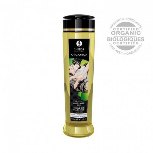 Naturalny organiczny olejek do masaży erotycznego Shunga 240 ml
