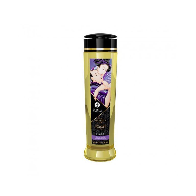 Olejek do masażu erotycznego zapach owoców egzotycznych Shunga 240 ml