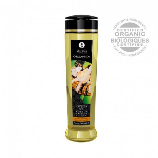 Olejek do masażu erotycznego zapach migdałów Shunga 240ml