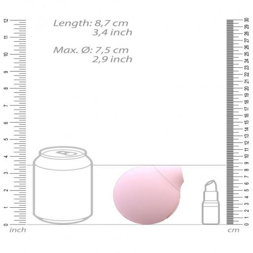 Stymulator łechtaczki Seductive, różowy