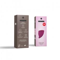 Winogronowy kubeczek menstruacyjny Fun Factory duży B