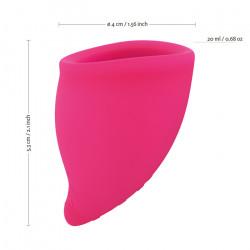 Zestaw dwóch kubeczków menstruacyjnych Fun Factory A i B