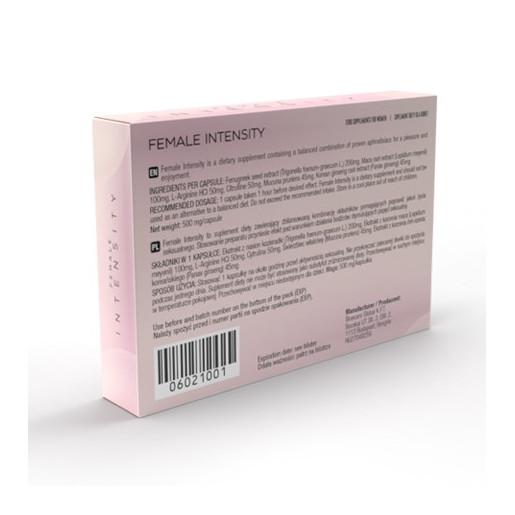 Tabletki podnoszące libido u kobiet Female Intensity 10 kapsułek