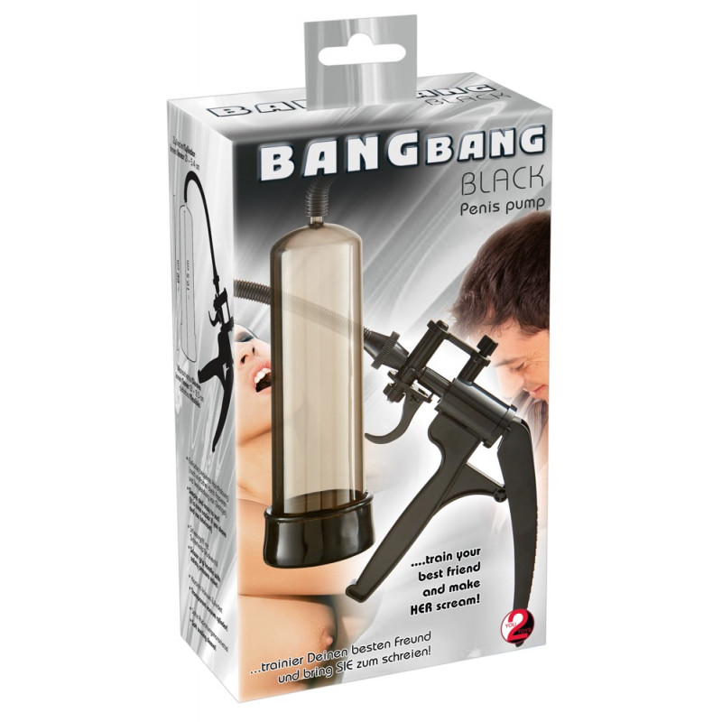 Pompka Bang Bang czarna