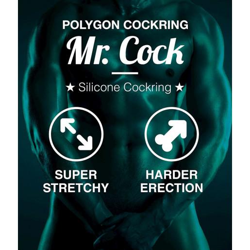 Pierścień na penisa Mr.Cock Polygon