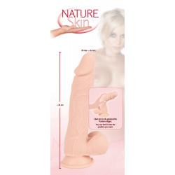 Dildo Nature Skin z przyssawką 24cm