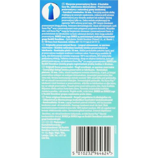 Klasyczne prezerwatywy lateksowe Durex Classic 12 sztuk