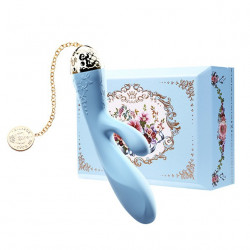 Wibrator króliczek sterowany telefonem Zalo Rosalie niebieski