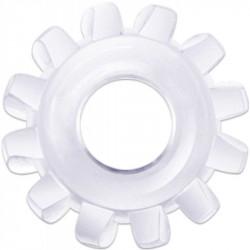 Elastyczny pierścień na penisa Lovetoy Power Plus przezroczysty śr. 1,6cm