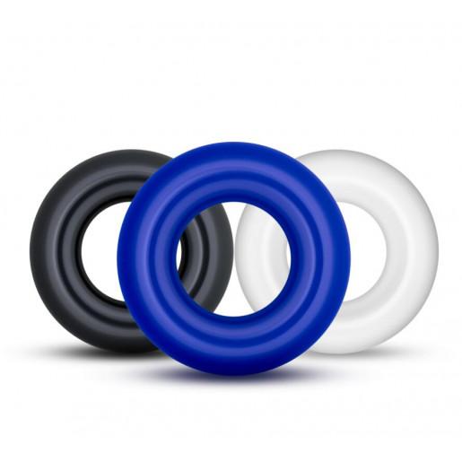 Komplet 3 elastycznych pierścieni na penisa LOVETOY