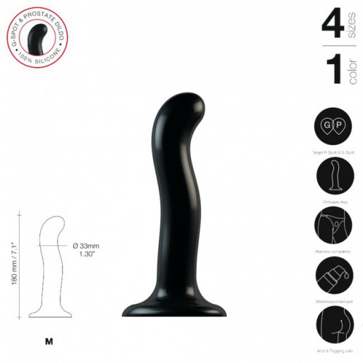 Uniwersalne dildo dla kobiet i mężczyzn Strap-on-me Point P&G M