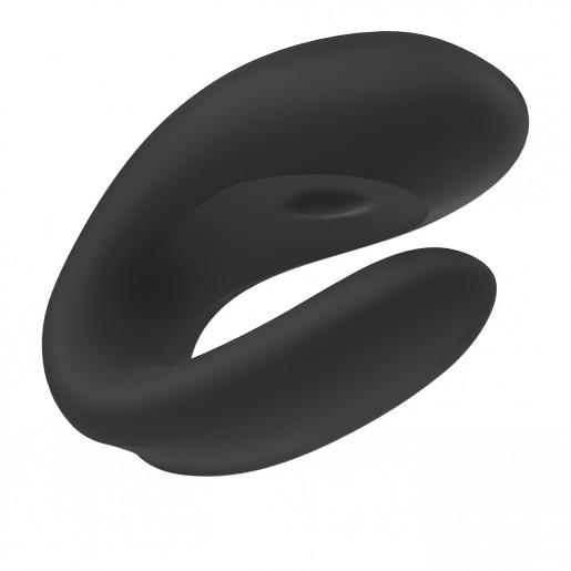 Wibrator dla par sterowany aplikacją Satisfyer Double Joy czarny