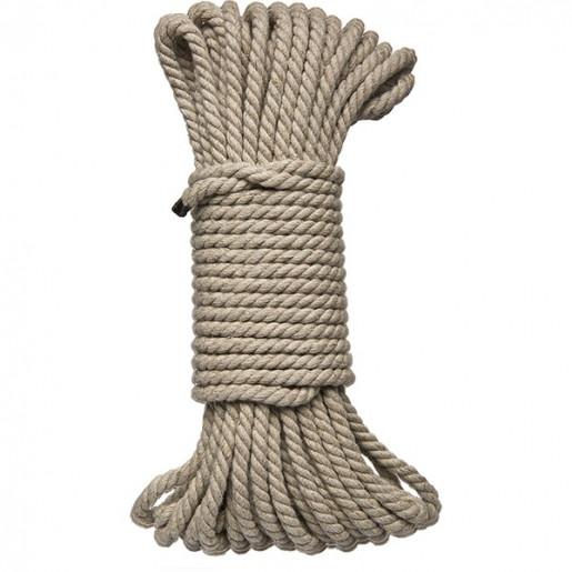 Lina konopna BDSM 15 metrów Kink Hogtied Bind & Tie