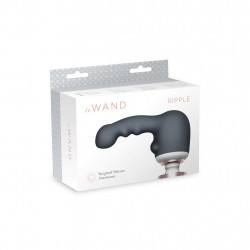 Nasadka na masażer - Le Wand Ripple Weighted Silicone Attachment
