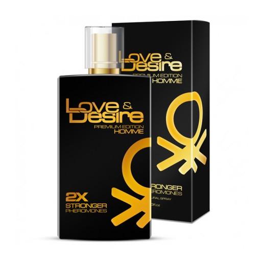 Męskie perfumy z feromonami Love&Desire Gold Homme 100ml