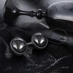 Czarne kulki gejszy LELO Luna Beads