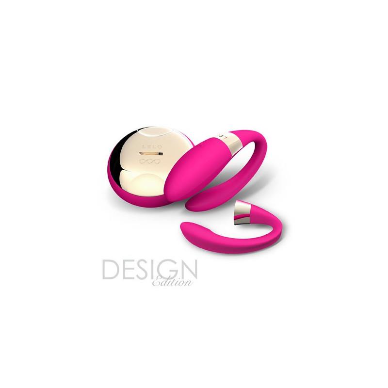 Wiśniowy wibrator dla par LELO Tiani 2
