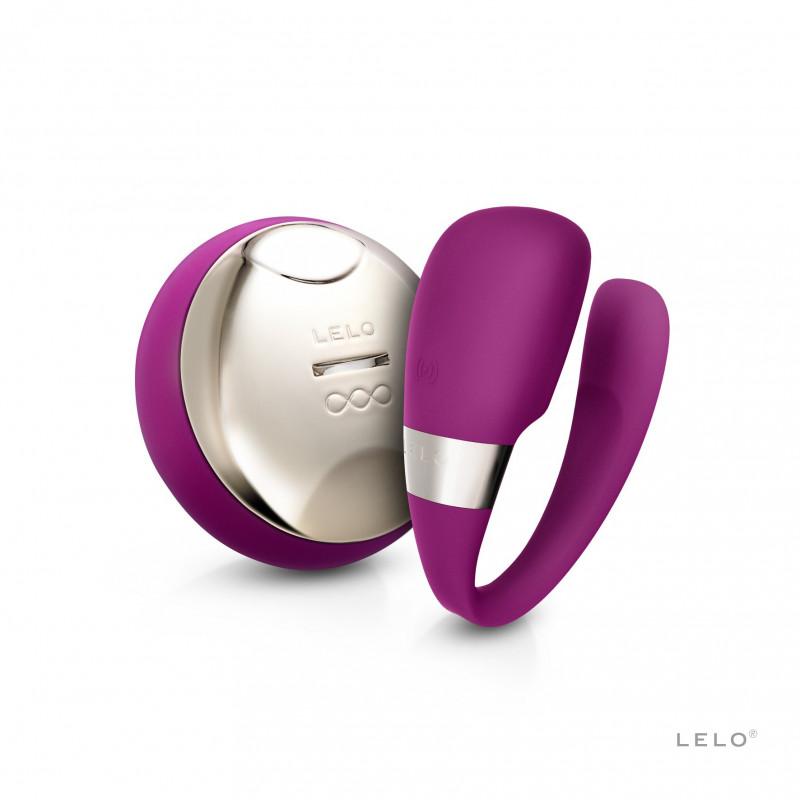 Wibrator dla par LELO Tiani 3 ciemno różowy