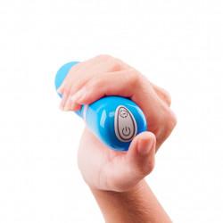 Wibrator stymulujący punkt G B Swish bdesired Deluxe Curve niebieski