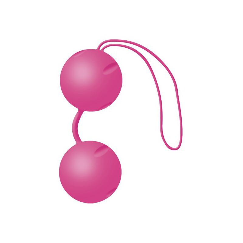 Różowe podwójne kulki gejszy Joyballs