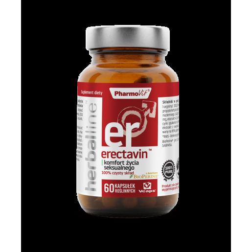 Herballine Erectavin komfort życia seksualnego 60 kapsułek