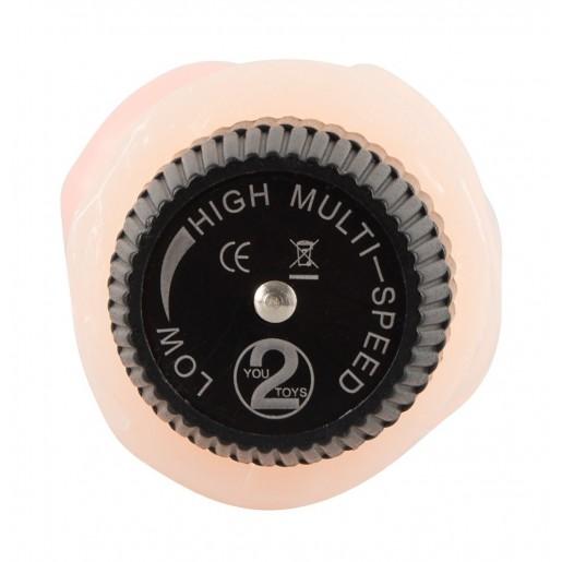 Wibrator w kształcie penisa Lover You2Toys