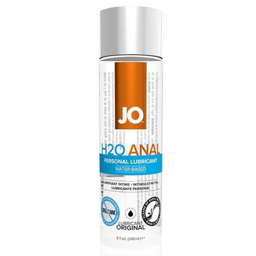 Lubrykant analny na bazie wody System JO Anal H2O 240 ml