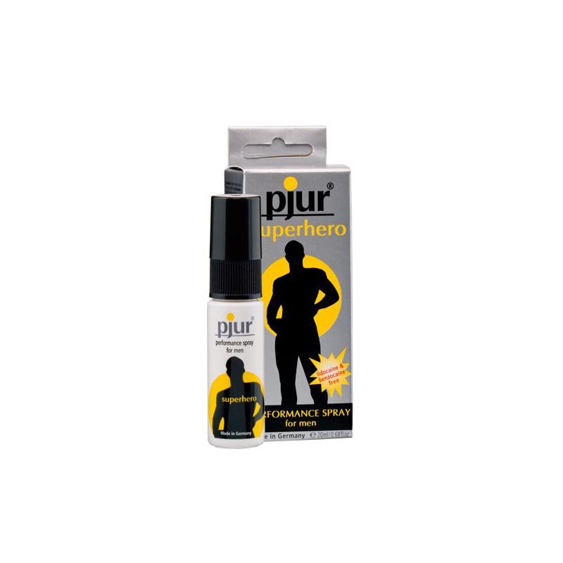 Spray dla mężczyzn wydłużający stosunek Pjur Superhero 20 ml