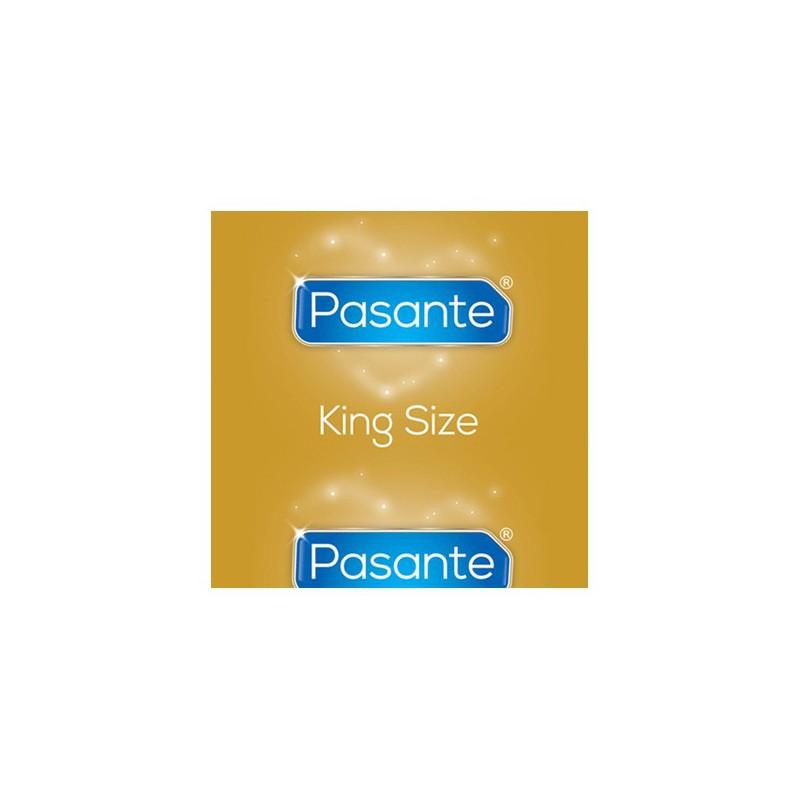 Prezerwatywy XXL Pasante King Size 144 sztuki