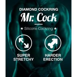 Pierścień na penisa Mr.Cock Diamond