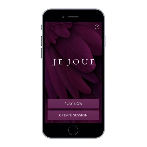 Wibrujący korek analny sterowany smartfonem Je Joue Nuo fioletowy