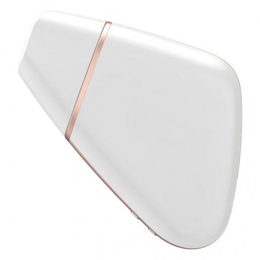 Satisfyer Love Triangle biały bezdotykowy stymulator łechtaczki