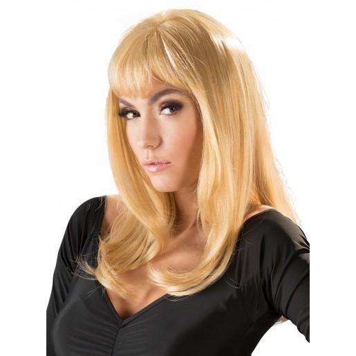 Damska blond peruka z prostymi włosami Linda Cottelli Collection