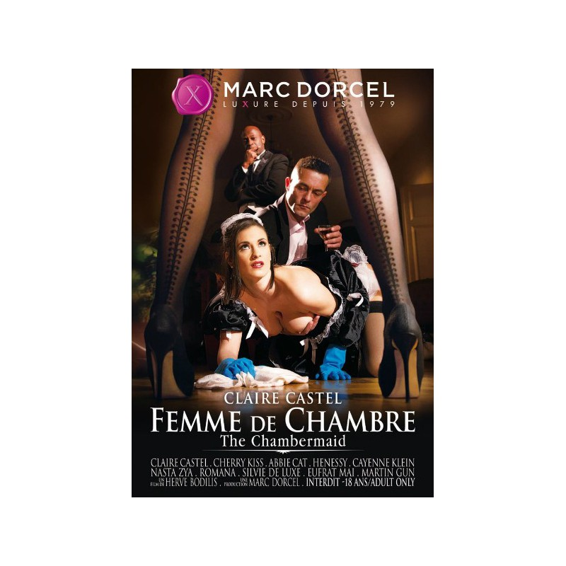 Film DVD Marc Dorcel Claire Castel the Chambermaid