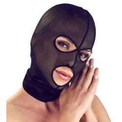 Czarna maska BDSM z siatki Bad Kitty