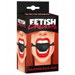 Czarny knebel BDSM Fetish Dreams