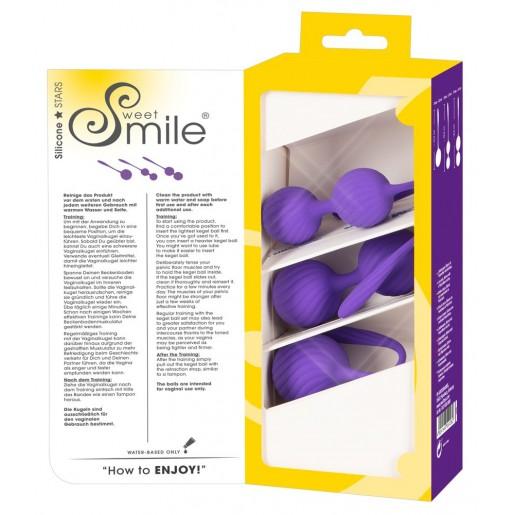 Zestaw progresywnych kulek gejszy Sweet Smile