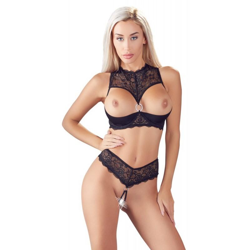 Komplet seksownej bielizny erotycznej Cottelli Collection