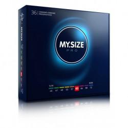 Prezerwatywy na wymiar MY.SIZE Pro 60 mm 36 sztuk