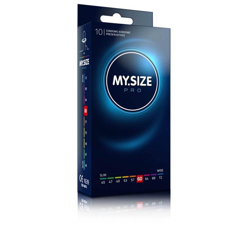 Prezerwatywy na wymiar MY.SIZE Pro 60 mm 10 sztuk