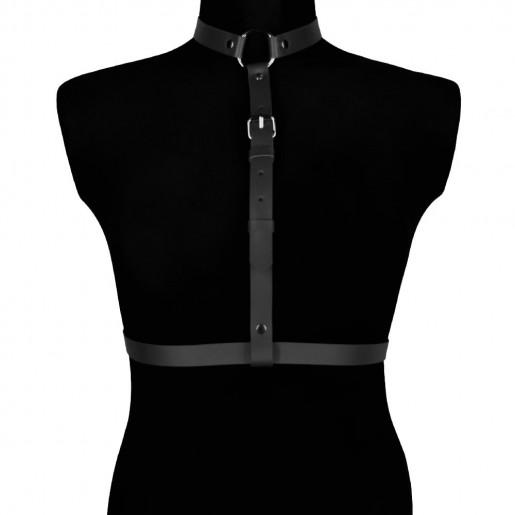 KARESS Blanca czarna erotyczna uprząż na ciało